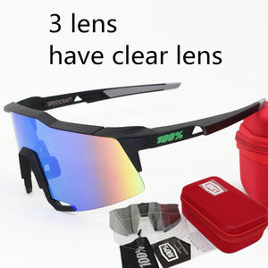e66b241117b Polarized Men Sport Mtb Mountain Bike Glasses 3 Eyewear Goggles  Airsoftsports Cycling