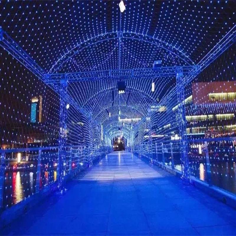 1 set & 3 M x 2 M 200 LED Lichtslingers Kerst xmas Fairy Lights - Vakantie verlichting - Foto 5