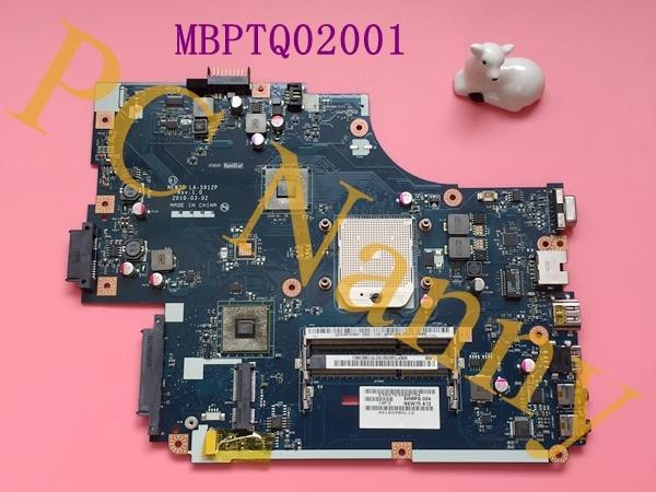 Para Acer Aspire 5551 AMD placa madre del ordenador portátil MBPTQ02001 NEW75 LA-5912P