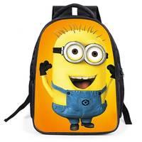 2017 Nuovi Capretti di Modo Del Fumetto borse Zaino bambino ragazzo Serventi zainetto mochila sacchetto di scuola zaino per bambini di qualità
