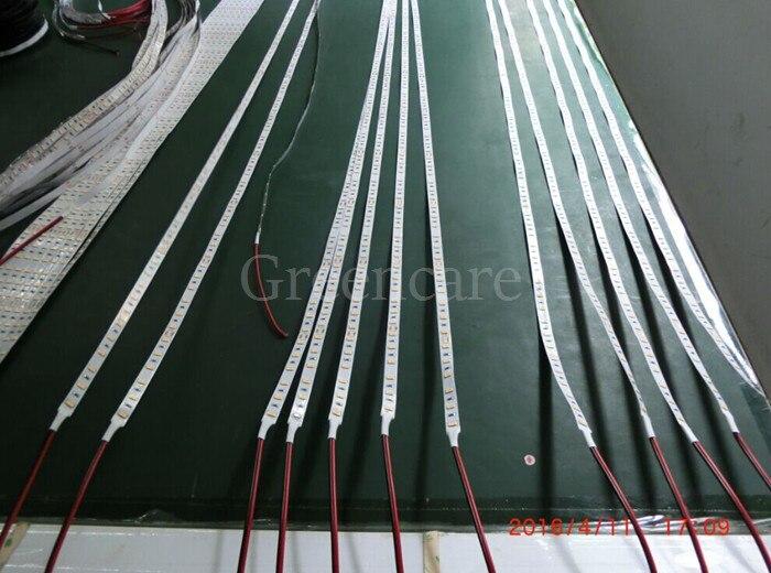 Купить с кэшбэком 5M 2400LM Super Bright Original Korea LM561 5630 LED strip warm white DC24V 21W/M 300leds/5M/Reel 60-65LM per led FreeShippin