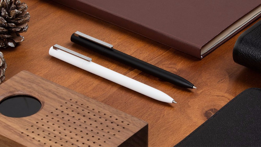 2017 Original Xiaomi Mijia Pen MI Pen 9.5mm xiaomi signing Pen PREMEC Smooth Switzerland Refill MiKuni (16)