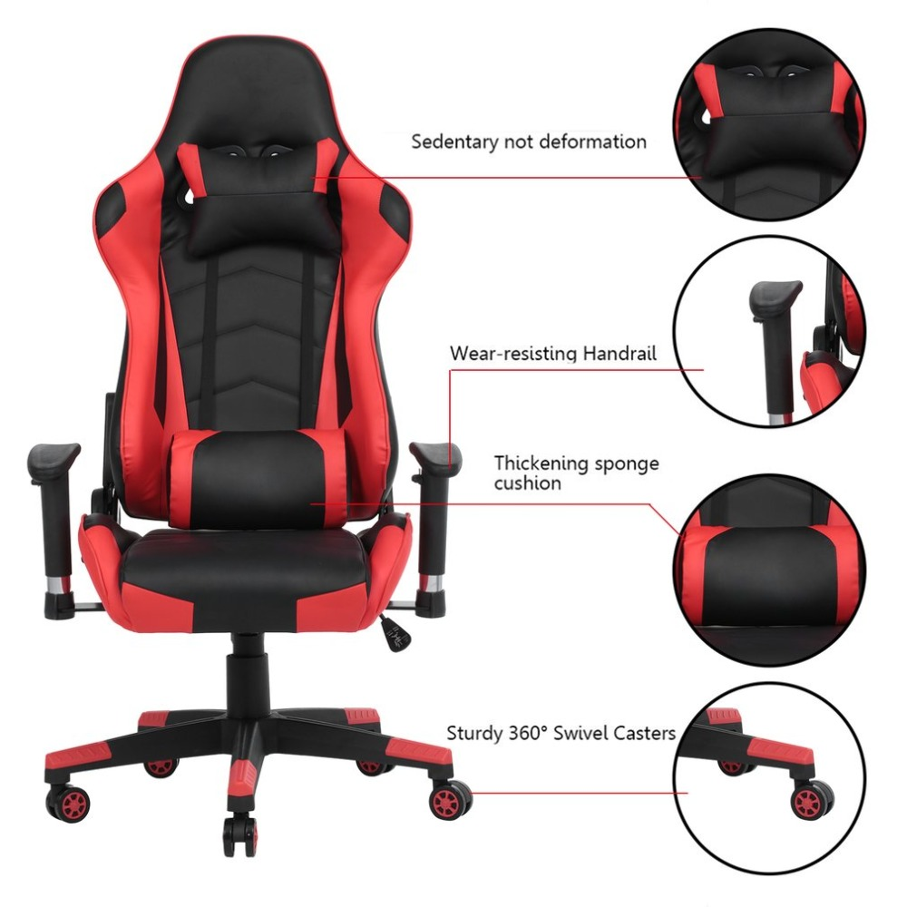 Office Chair Not Revolving Golden Power Parts Ergonomic Confenrence Reclining Racing Computer Gaming Recliner Boss Armchair In Chairs From Furniture On