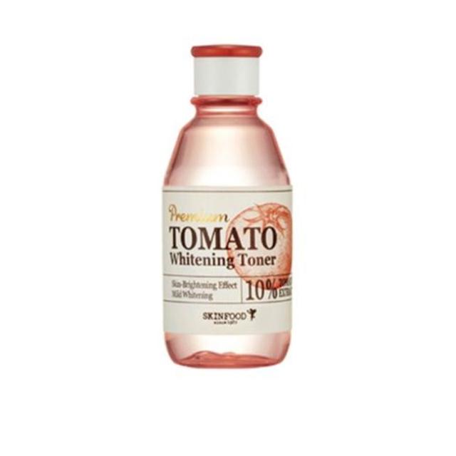 Alimentos piel Premium Tomate Blanqueamiento Toner 180 ml Poros de Contracción Toners Cara Cuidado de La Piel Anti-Envejecimiento Para Blanquear La Piel Hidratación tóner
