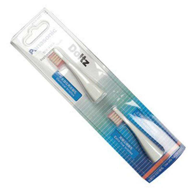 Panasonic electric toothbrush EW-DS11 brush head WEW0957W 2 Pack original image