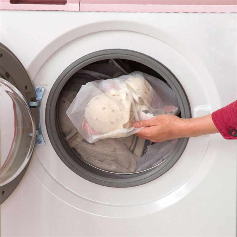 Sutiã de renda-up cueca roupas cestas de produtos sacos de malha saco de roupa suja roupas de cuidados de lavagem ferramentas de limpeza doméstica
