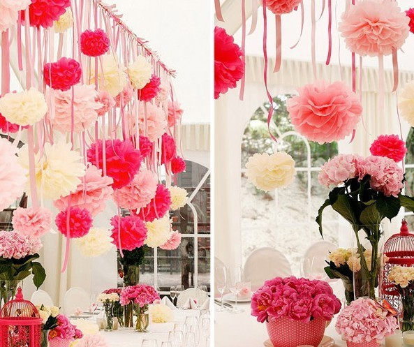 12pcs lot marriage room decor paper flowers ball diy wedding