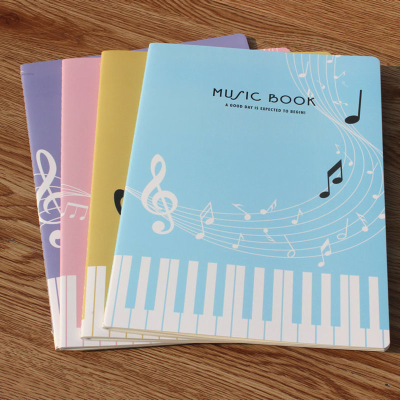 1 шт. 36 листов креативная музыкальная книга модная простая записная книжка для фортепиано для студентов практичная музыкальная книга для уп...