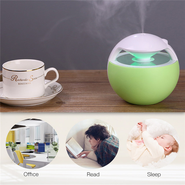 450ML Air Humidifier Essential Oil Diffuser USB Humidifier Electric Aroma Diffuser Mist Maker for Home Air Purifier difusor