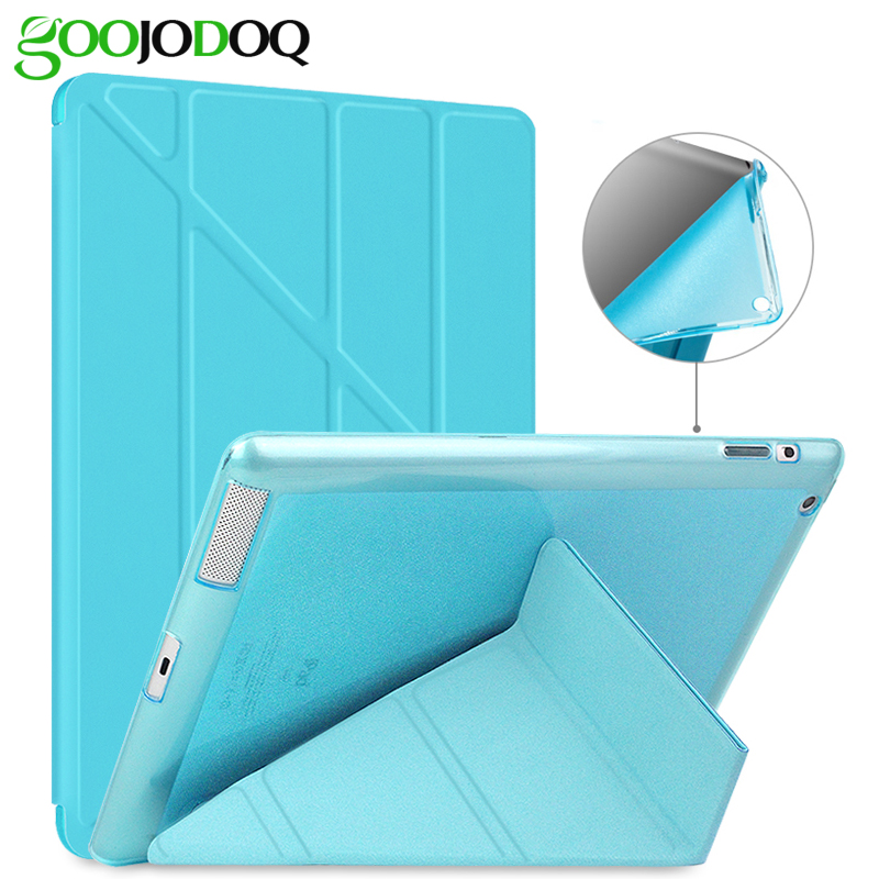 Case For iPad Pro 9.7 / iPad 2 3 4 Case, [Multiple Stand + Glitter Silicone Soft Back] PU Leather Smart Cover for iPad 4 Coque for ipad mini4 cover high quality soft tpu rubber back case for ipad mini 4 silicone back cover semi transparent case shell skin