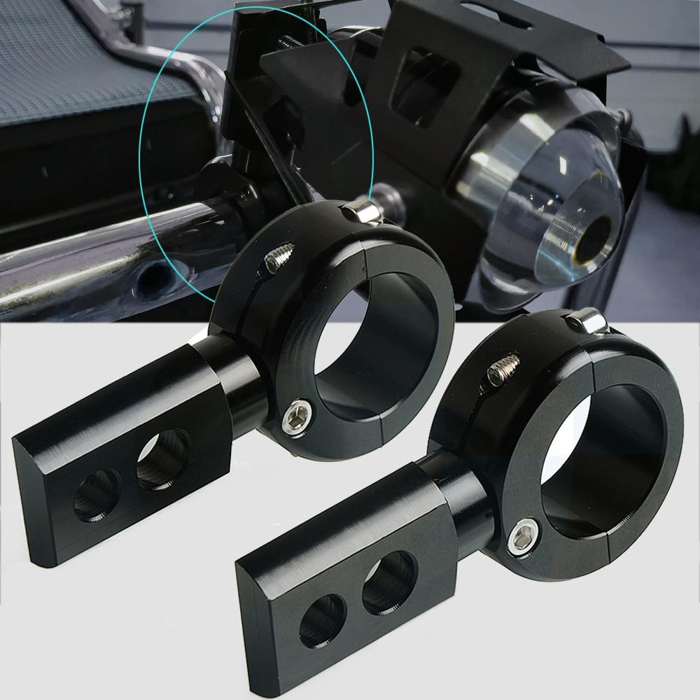 Support de montage de barre de taureau de Tube de Cage de rouleau de voiture projecteur de lumière de conduite de brouillard support de montage de phare barre de lumière de travail de retenue avant