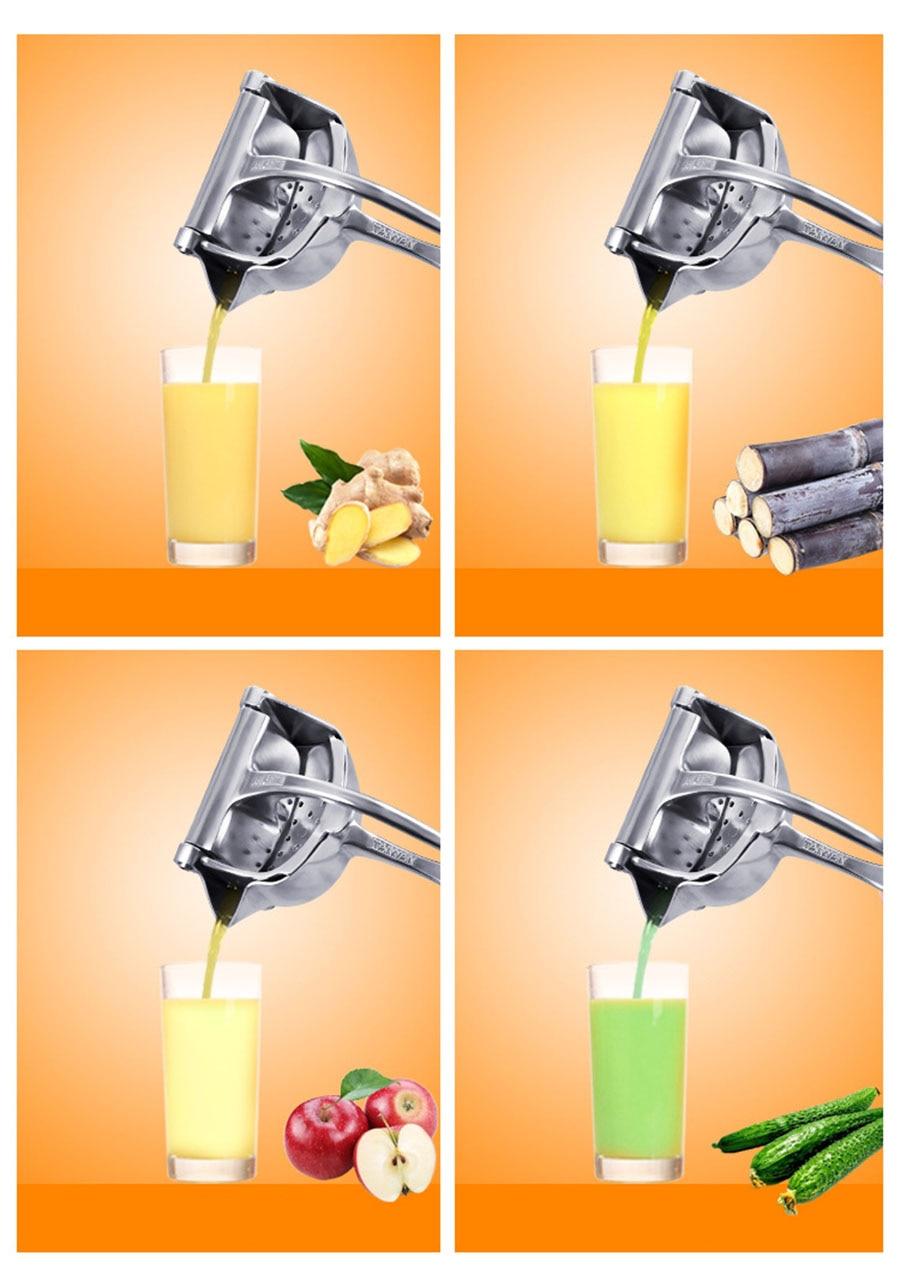 Manual Juice Squeezer Aluminum