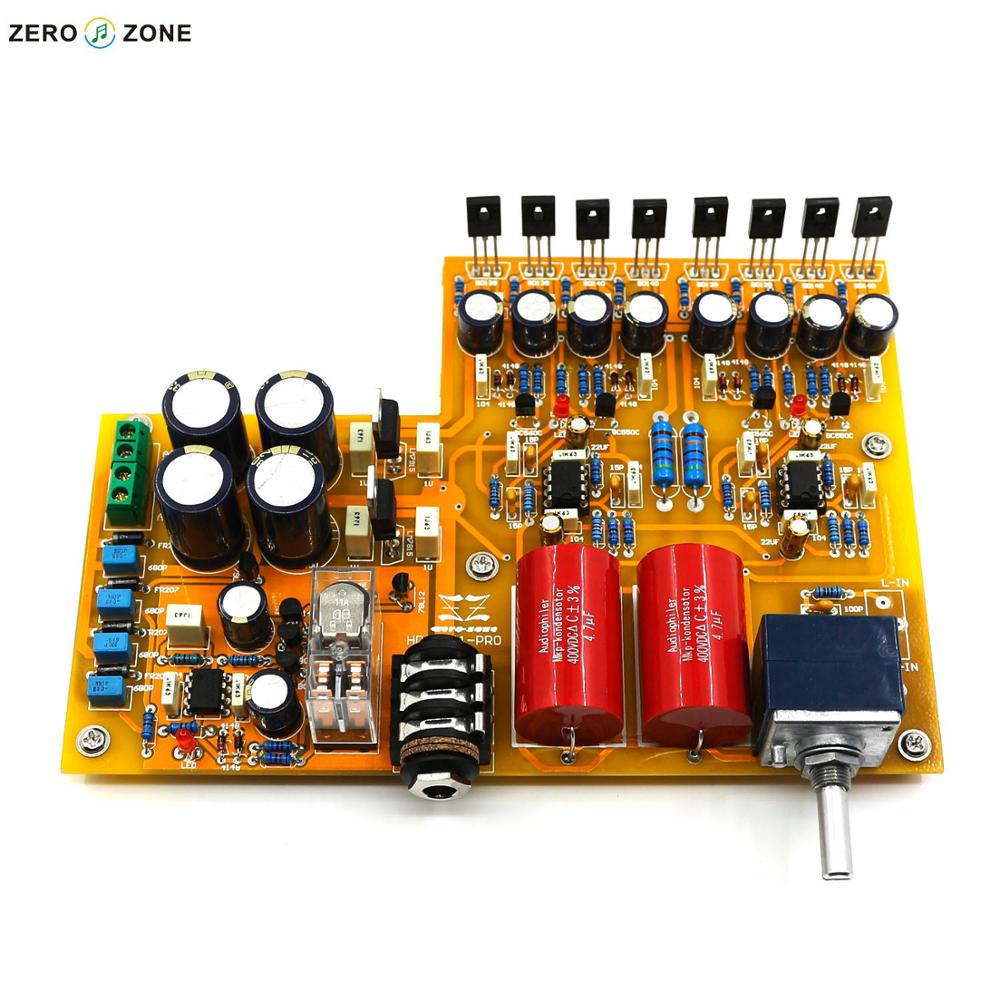 цена ZEROZONE Assembled Classic HD-8-A1-PRO Headphone Amplifier Board With ALPS Potentiometer