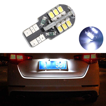 BOAOSI 1x T10 SMD 3020 Car LED License Plate Auto Canbus Light W5W 168 194 For Opel Adam Corsa C Corsa C Combo Corsa D Astra H image
