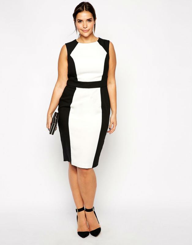 2015 hot sale loose casual midi dress plus size work dress ...