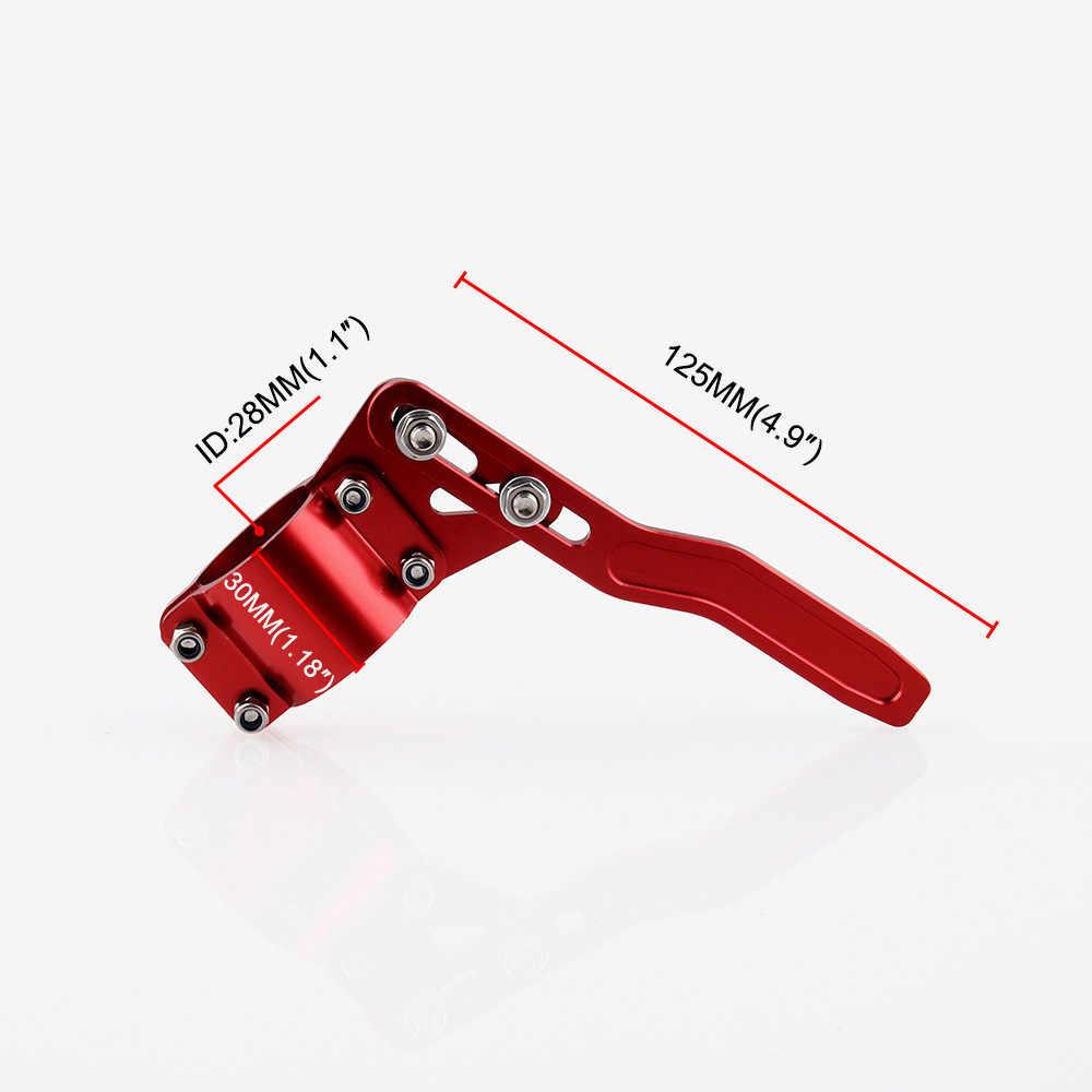 Новый алюминий автомобиля стиль отделкой Руль Ручка от тележки ручка поворотника Лифт комплект дропшиппинг тележка del volante estilo 3,1