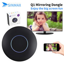 Q1 Wireless WiFi Display Dongle Receiver 1080P HD TV Stick Airplay Miracast Media RK3036 Adapter Media for Google Chromecast 2