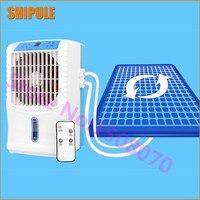 Frete grátis verão pequeno ventilador de ar condicionado circulação água refrigeração colchão único ar refrigerar água colchão