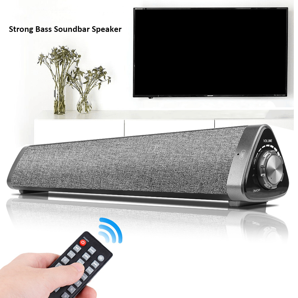 Doelstelling Mini Bluetooth Speaker Soundbar Bedrade En Draadloze Speakers Bluetooth Audio Voor Telefoon Tablet Projector Tv W/aux Rca Usb Uitgang Reputatie Eerst