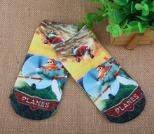 2pairs a lot of cotton Baby Socks toddler calcetines children's cartoon children Aircraft Mobilization 3D printing brand Socks