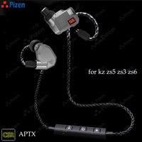 New PIZEN BT66 CSR8645 Support Aptx For Kz Zs3 Zs5 Zs6 Zst Bluetooth Replace Mmcx Cable