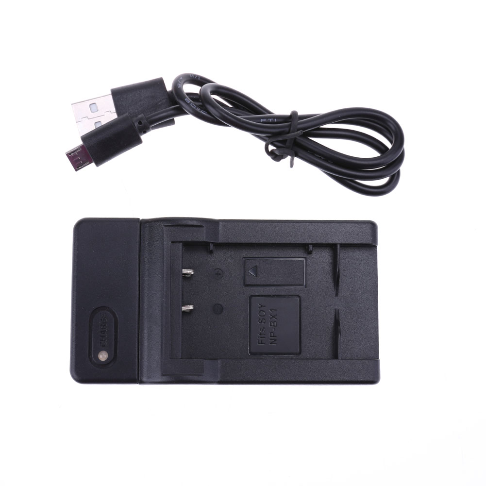 Camera Battery Charger Battery Accumulator Power Supply Dock for SONY DSC-RX100 WX300 AS15 HX300 HX50 RX1