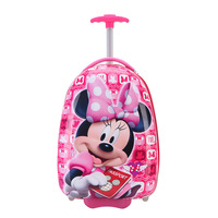 New Kids Luggage Rase Cartoon Boy Girl Travel 16inches Students Trolley Wheeled bag Case Cute Children Boarding The Chassis Gift