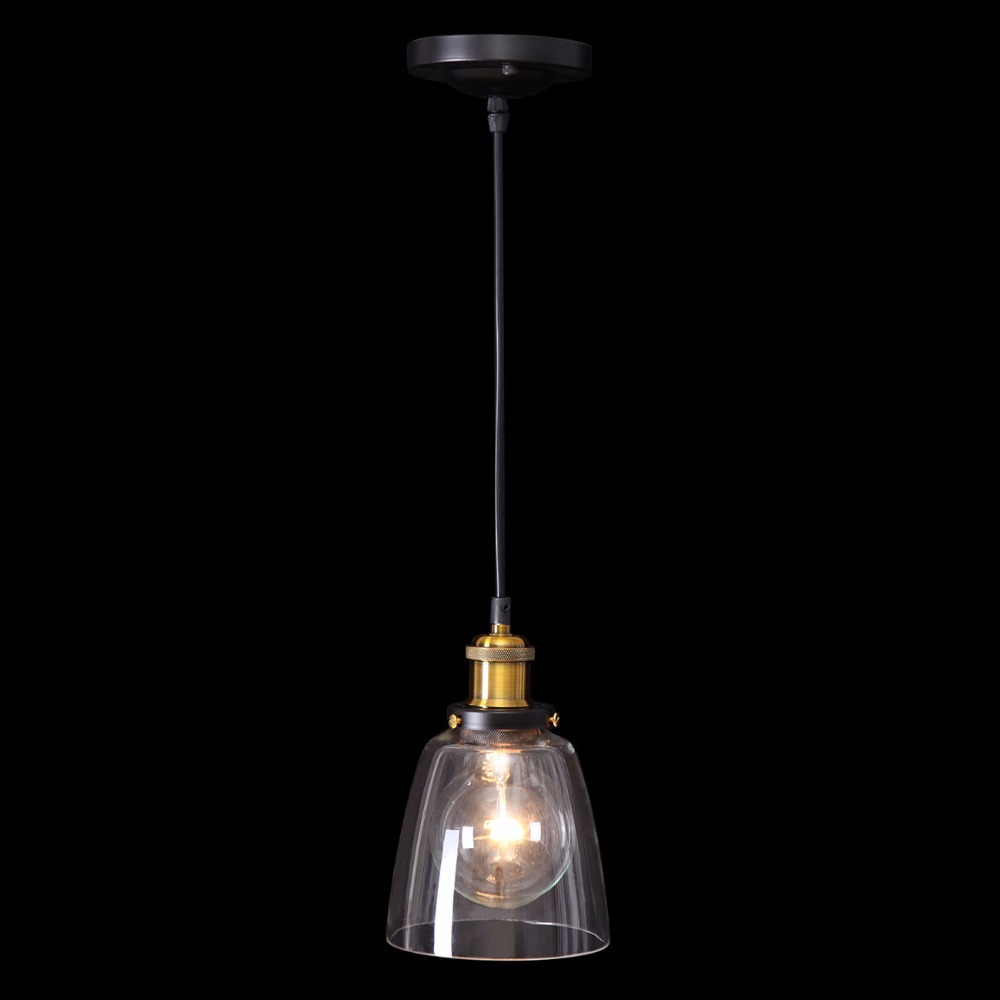 Ship from Germany! Glass pendant light Vintage retro pendant light Lamparas Colgantes Industrial Home Lighting Fixture avec modération вьетнамки