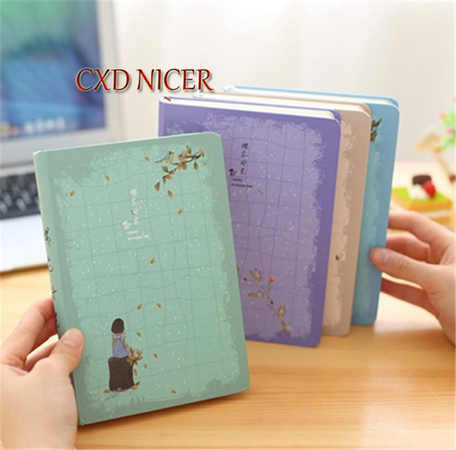Blank Color Page Diary South Korea Creative Students Birthday Gift ...