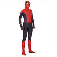 Cosplay Spider Man Far From Home Peter Parker Cosplay Costume Spider man Superhero Bodysuit Suit Jumpsuits