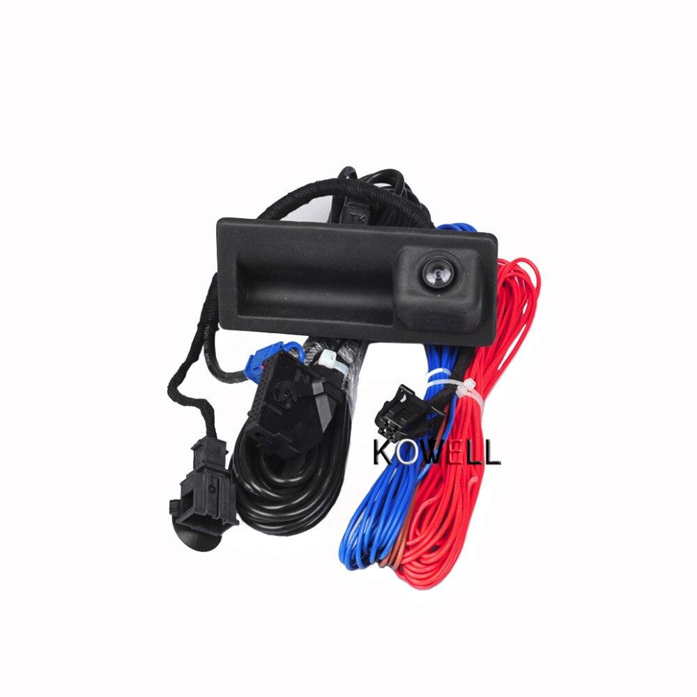 REAR VIEW CAMERA CABLES HARNESS KIT For VW Jetta 5 MK5 MK6 Tiguan Passat B7 RCD510 RNS510 5M0 970 161 AC 56D 827 566A, 18D 827 5