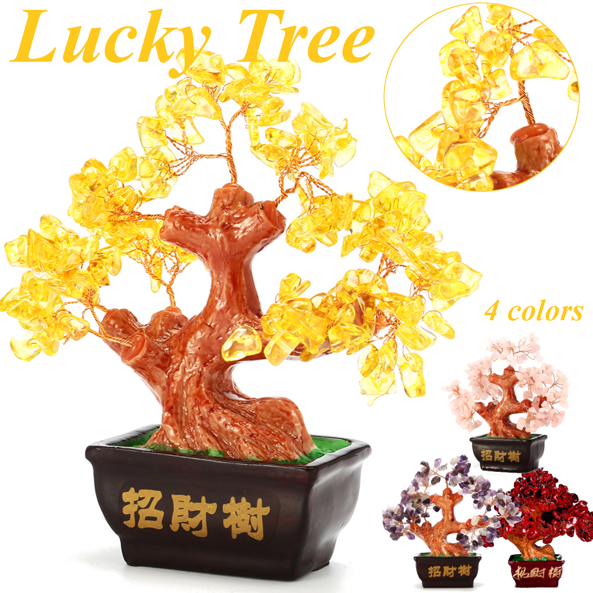 Feng Shui Crystal Money Tree Ornaments Lucky tree Bonsai Style Wealth Luck Feng Shui Bring Wealth Home Money Tree ornamentsFeng Shui Crystal Money Tree Ornaments Lucky tree Bonsai Style Wealth Luck Feng Shui Bring Wealth Home Money Tree ornaments