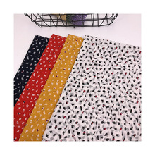 100% Polyester Random Dot Printed Pearl Chiffon Fabric Patchwork Textile DIY Sewing Dress Shirt Shawl