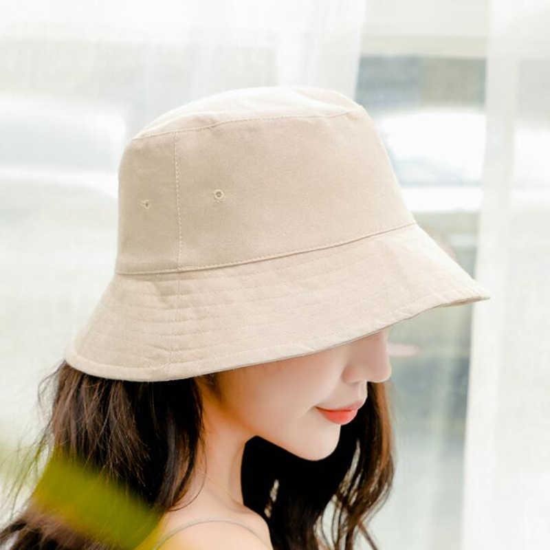 الربيع الصيف قبعة بحافة الهيب هوب للنساء الرجال عارضة القطن الذكور شقة الصيف قبعة الصيد الإناث بنما الشاطئ بوب انخفاض الشحن