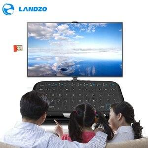 Image 4 - YENI Mini H18 Kablosuz Klavye Ile 2.4G Taşınabilir Klavye Touchpad Fare Windows Android/Google/Akıllı TV linux Windows Mac