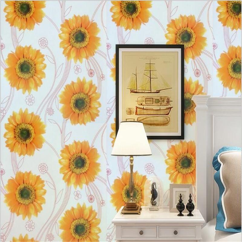 beibehang Modern simple self adhesive wallpaper warm ...