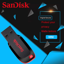 Original SanDisk USB Pen Drives 32GB 64GB 8GB 16GB CZ50 USB2.0 memory stick USB flash drive 128GB Support Official Verification