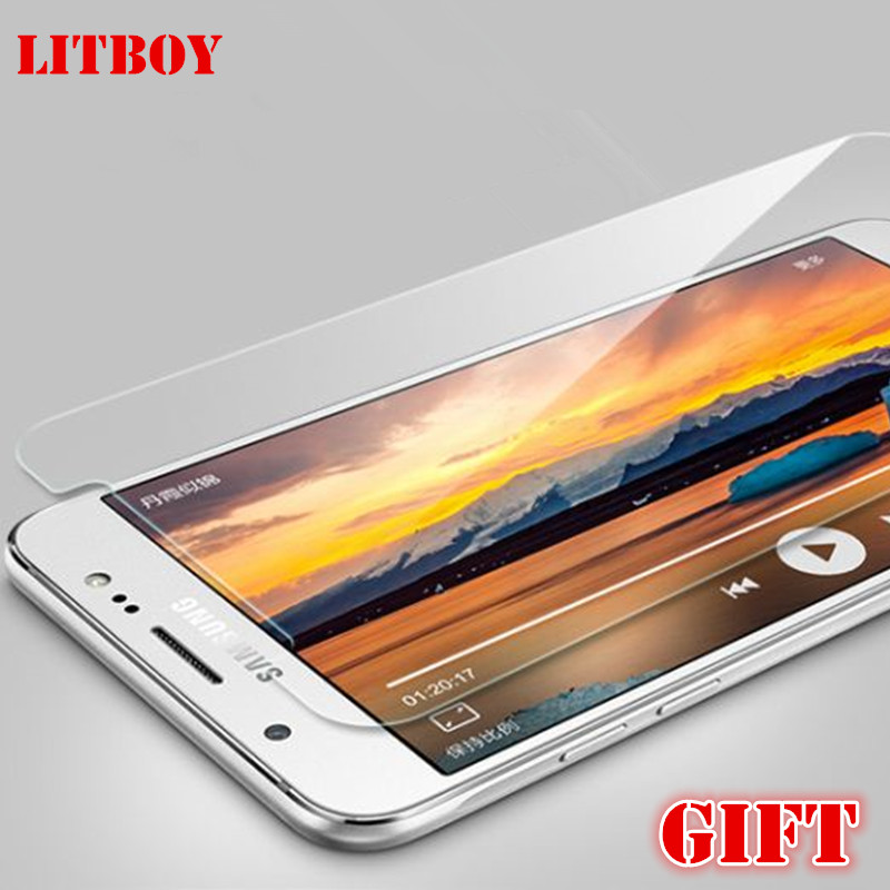 LITBOY 9H Tempered Glass For Samsung J7 J3 J5 2015 2016 Screen Protector For Galaxy J310