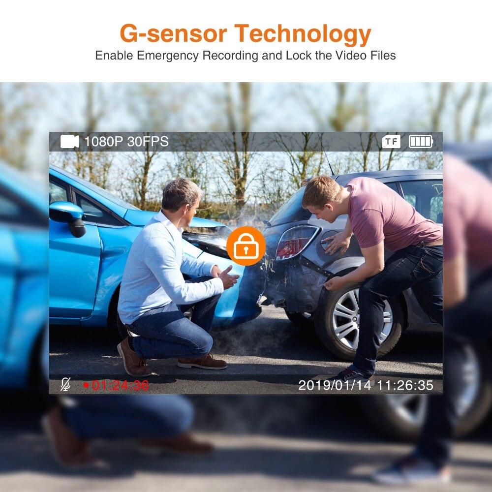 ThiEYE Auto Dash Kamera Safeel Null Echt 1080P 170 Weitwinkel Auto DVR Mit G-Sensor Parkplatz Monitor fahren Auto Kamera Recorder