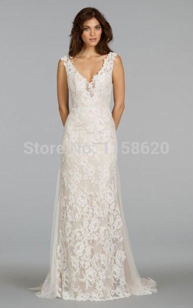 Cocktail Length Wedding Dress - Ocodea.com