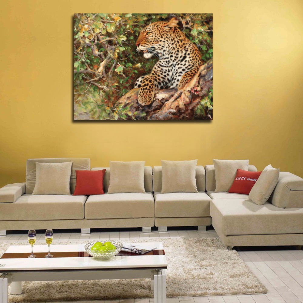 Enchanting Leopard Print Wall Decor Gallery - Wall Art Collections ...