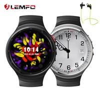 LEMFO LES1 Android 5.1 OS Smart Watch Phone Unterstützung 2.0MP HD Kamera Herzfrequenzmesser GPS WIFI 3G Reloj Inteligente Android