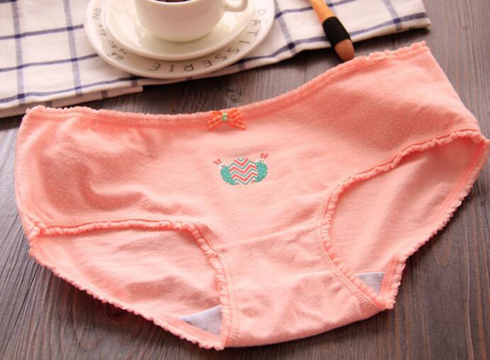 Новое нижнее белье с рисунком для маленьких девочек хлопковые трусики для девочек, детские короткие трусы, детские трусы, 6 шт./партия, B-SQ-A30CENSETU-6P