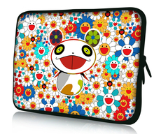 "Cute Panda 12"" Laptop Netbook Notebook Sleeve Case Colorful Bag Cover For 11.6"" Alienware M11x PC(China)"