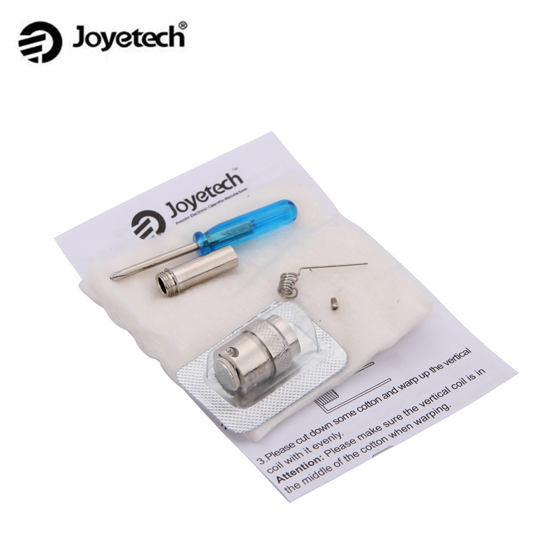 Original Joyetech Cubis BF RBA Head with Vertical Coil 0.5ohm for Cubis Tank BF RBA Head Coil 10pcs/lot
