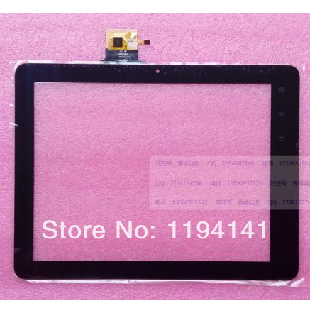 New for 9.7 inch Tablet E-C97002-02 FPC Capacitive touch screen LCD digitizer Touch panel Glass Replacement Free Shipping black new 7 inch tablet capacitive touch screen replacement for pb70pgj3613 r2 igitizer external screen sensor free shipping