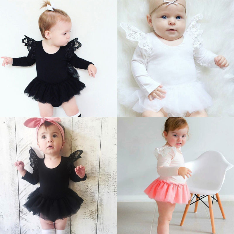Newborn-Toddler-Baby-Girls-One-Piece-Romper-Tutu-Dress-Clothes-Lace-Outfits-2