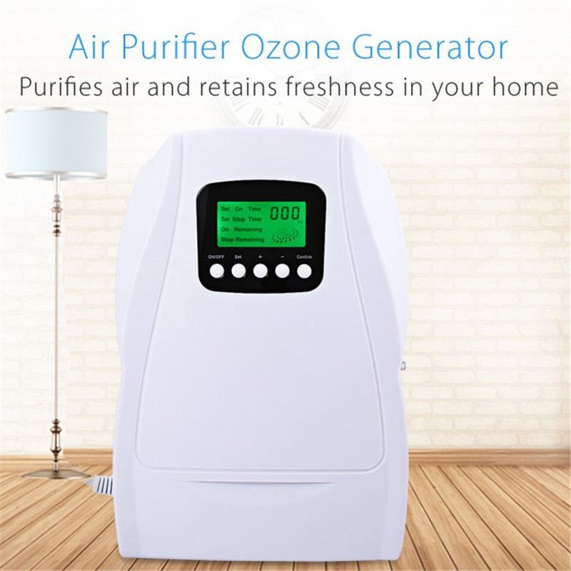 INVITOP N202C Multipurpose Air Purifier Ozone Generator Fruit Vegetable Sterilization Ozonator for Home Wardrobe Office Airfresh