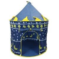 Ultralarge Kinderen Strand Tent  Kids Prinses Prince Castle Indoor Outdoor Toys Tenten Christmas Gifts (Willekeurige Kleur)-in Speelgoed tenten van Speelgoed & Hobbies op