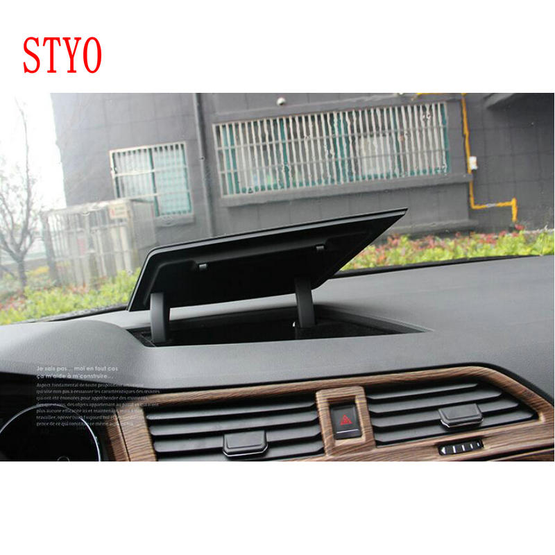 STYO Car Front Central Console Dashboard Storage box Holder for 2017 2018 VW tiguan mk2 5NG857922A